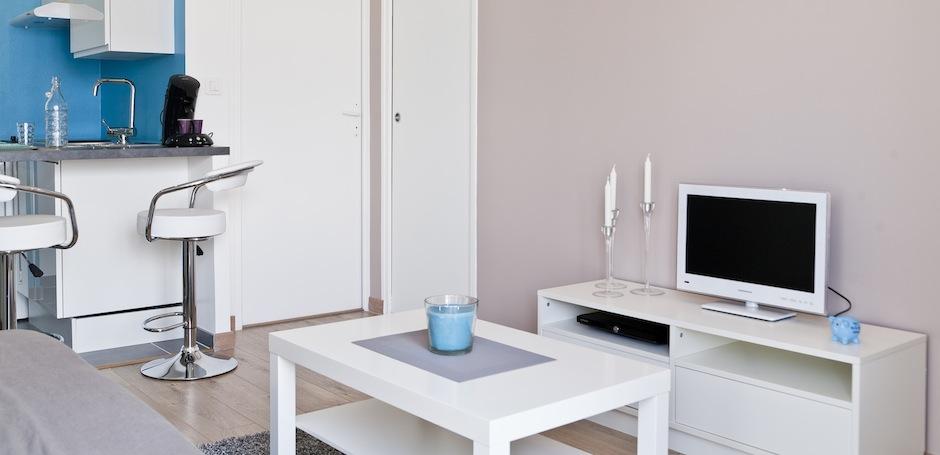 appart h tel nantes gite urbain meubl en centre ville de nantes appart h tel nantes. Black Bedroom Furniture Sets. Home Design Ideas