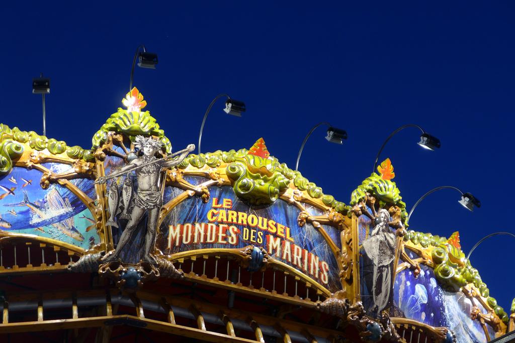le carrousel des mondes marins award de l 39 attraction la plus originale appart h tel nantes. Black Bedroom Furniture Sets. Home Design Ideas