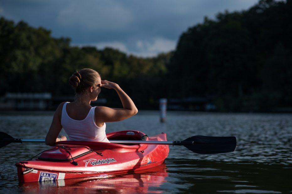 Kayak sur l'erdre